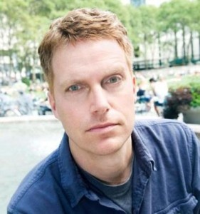 Author Adam Sternbergh of Carroll Gardens. Photo by Marvin Orellana.
