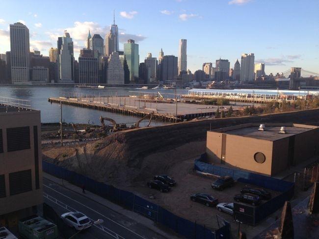 Brooklyn Bridge Park Dirt Berm