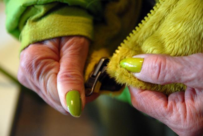 Green Lady Nails