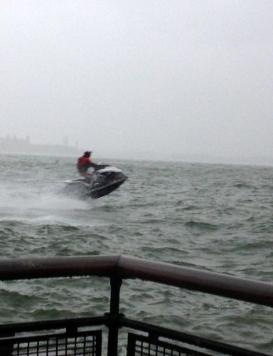 Dangerous Jet Skiier at 5 p.m.