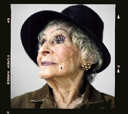 Milly, 95-year-old fashionista of Carroll Gardens