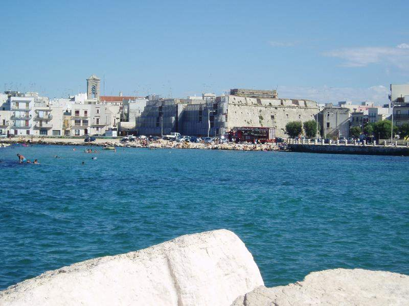 Mola di Bari, Italy, on the Adriatic Sea