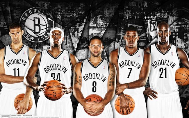 Brooklyn's starting lineup