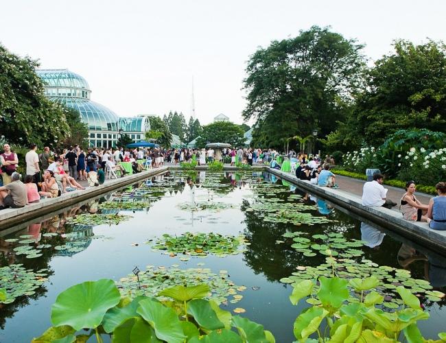 Garden After Party, Brooklyn Botanical Gardens | South Brooklyn Post ...